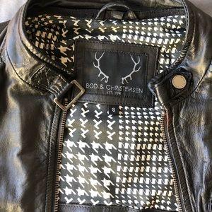 Jackets & Blazers - Bod & Christensen leather jacket